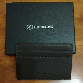 Lexus Slim Name card Holder