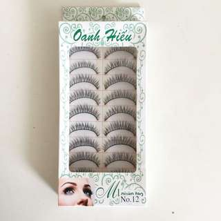 False Eyelashes: Style #12