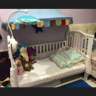 Baby Cot From Mothercare