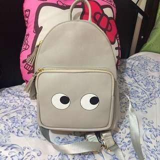 Gray Bagpack
