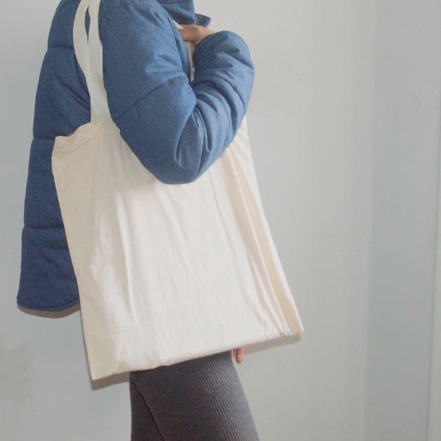 2 Medium Sized CANVAS BAGS