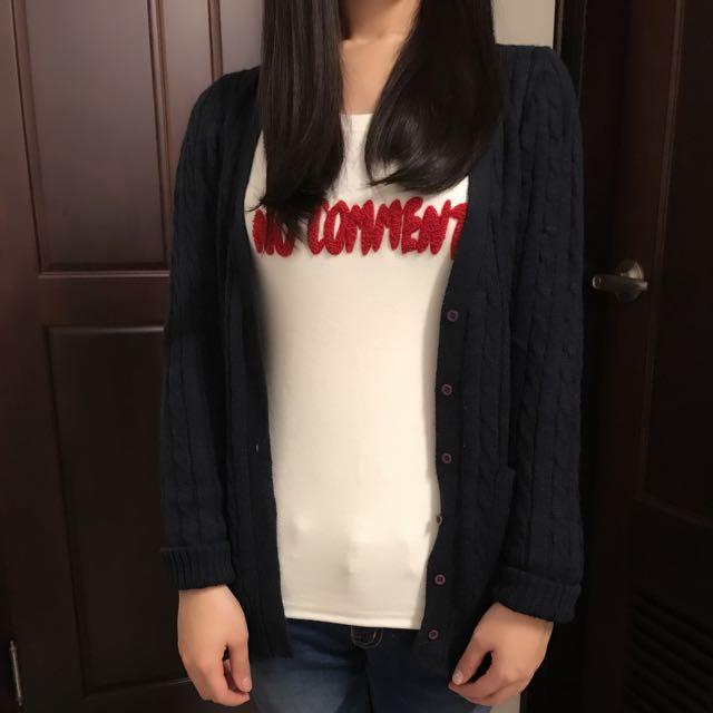 顯瘦韓版學院風超好看針織外套超便宜出清❤