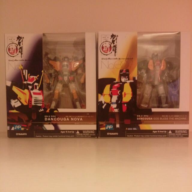 群雄【動】系列 #7超獸機神 及 #10獸裝機攻 2只一起買