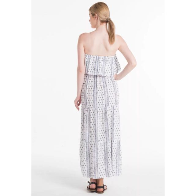 🎀 Harper And Bloom White Maxi Dress Size 8 Small