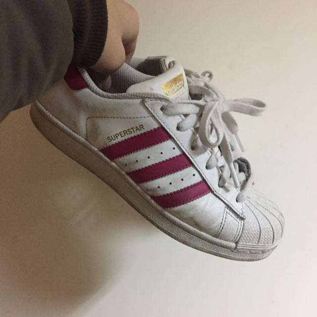 Adidas Superstar 桃紅
