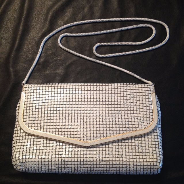 Antique/Vintage Metal Mesh Purse / Handbag. Excellent condition