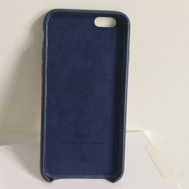 low priced a0281 a9971 Apple iPhone 6 Iphone 6s Leather Case Midnight Blue 皮革護套午夜藍 ...
