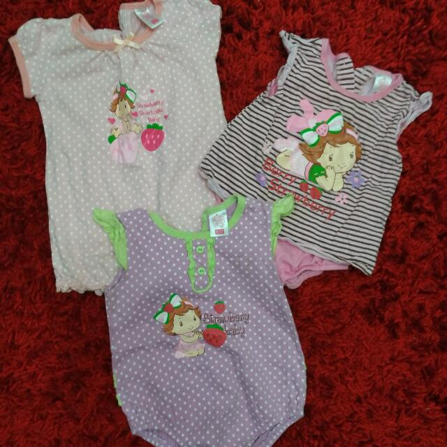 Assorted Baby Girl Rompers