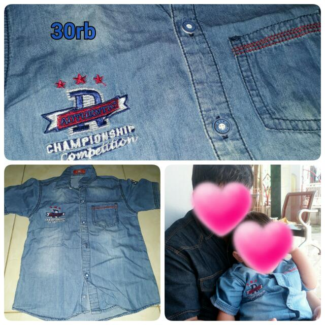 BAJU JEANS SECOND GOOD