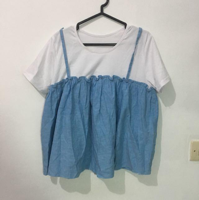 Baju Kaos Cute Korea