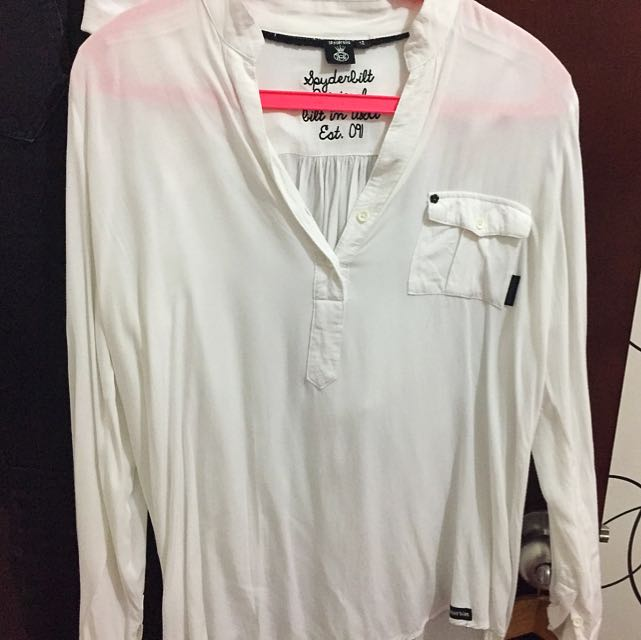 Basic White Shirt By Spyderbilt