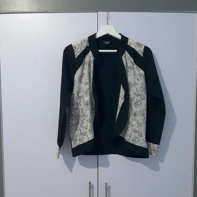 REPRICE Black Floral OUTER