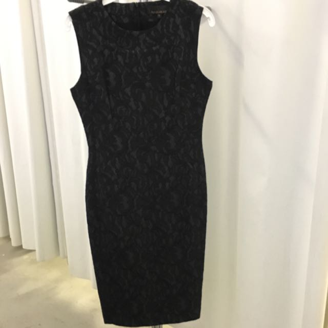 Black Lace Dress Lucian Matis