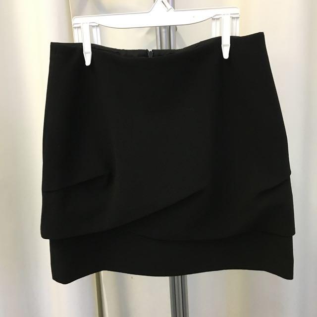 Black Mini Skirt Lucian Matis