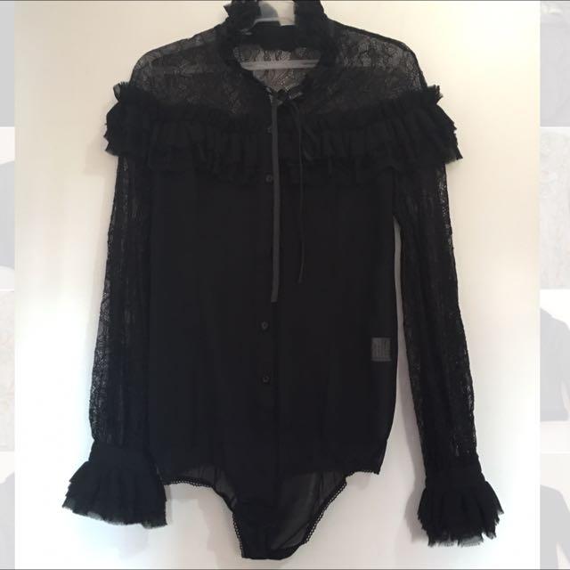 Black Velvet Lace