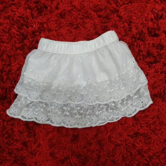 CARTER'S Lace Skirt