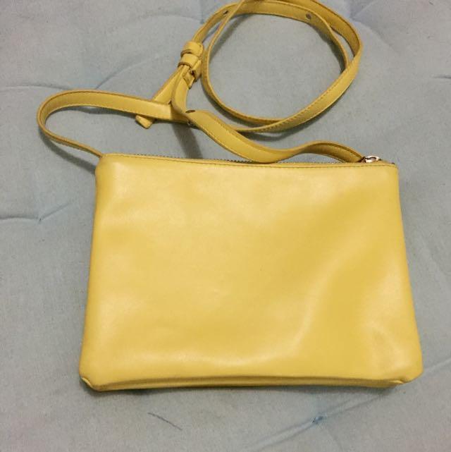 Celine Trifold Bag Look Alike Yellow