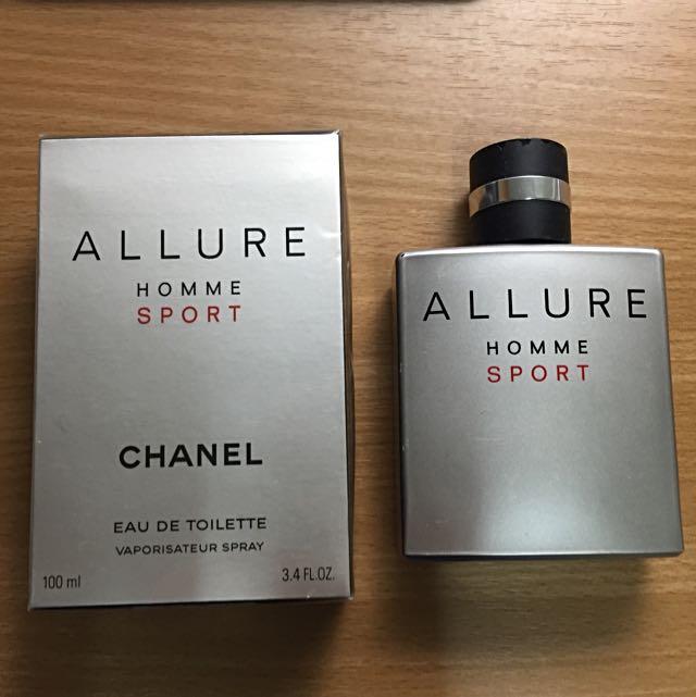Chanel ALLURE homme sport 香奈兒 男性香水 中性香水 運動 淡香水 正版 公司貨 100ml