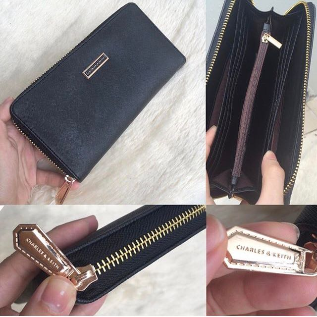Charles & Keith Zip Wallet