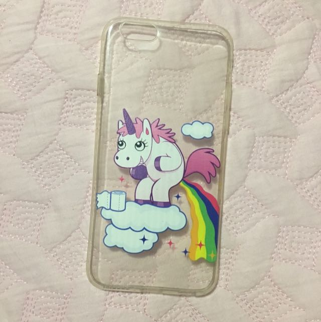 Clear Unicorn iPhone6/s Case