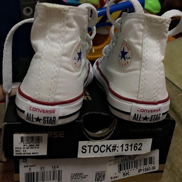 Converse Chuk Size 5K
