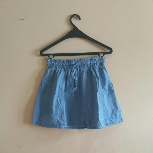 Denim Color - Skirt