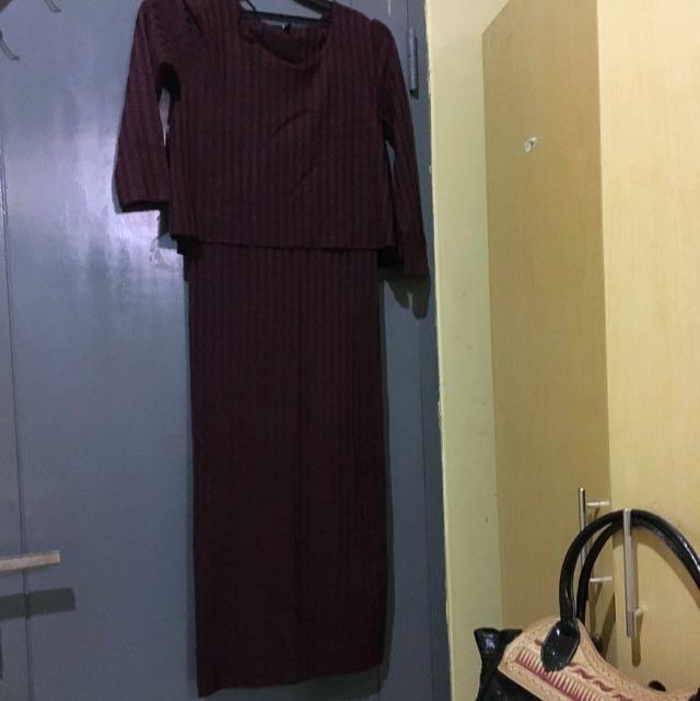 dress kaos 3/4 stradivarius