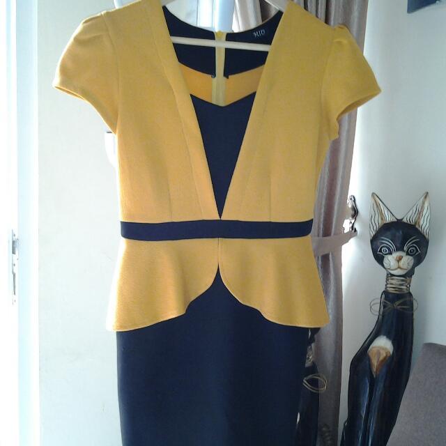 Dress Kuning MIU