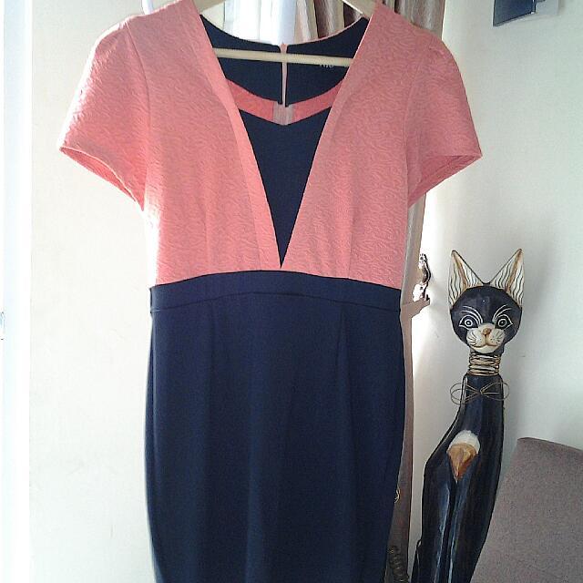 Dress Orange MIU
