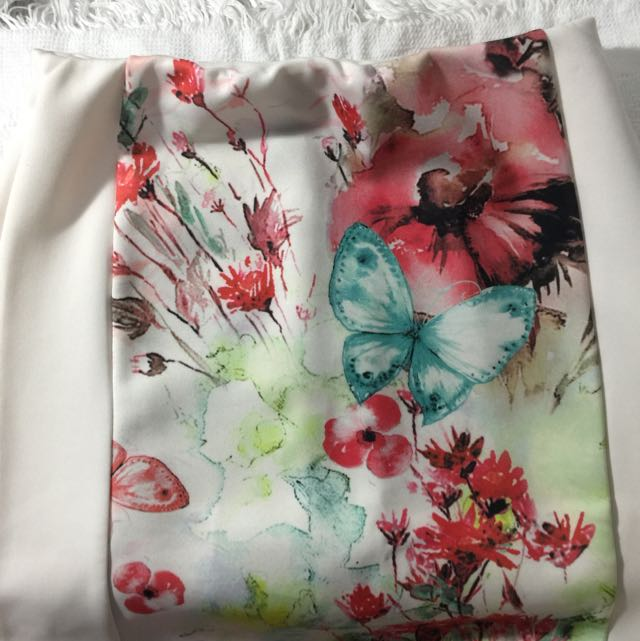 Floral Skirt By Forever 21
