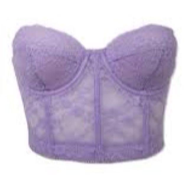 c915391a2e Forever 21 Lingerie Pastel Purple Lavender Bustier
