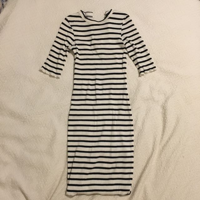 French Connection Tight Midi Dress Size 6