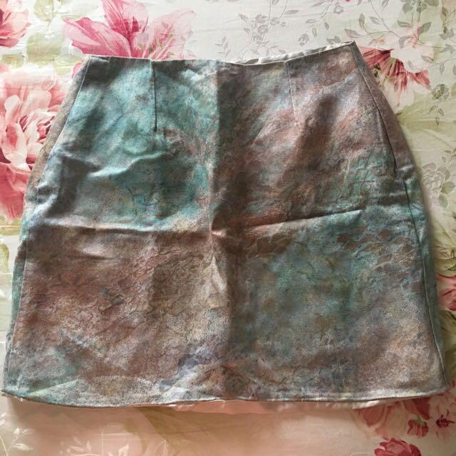 REPRICED!! Galaxy Mini Skirt - M