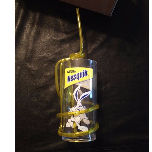 Genuine Nestle Nesquik Collector Cup with twisty-straw. Unused.