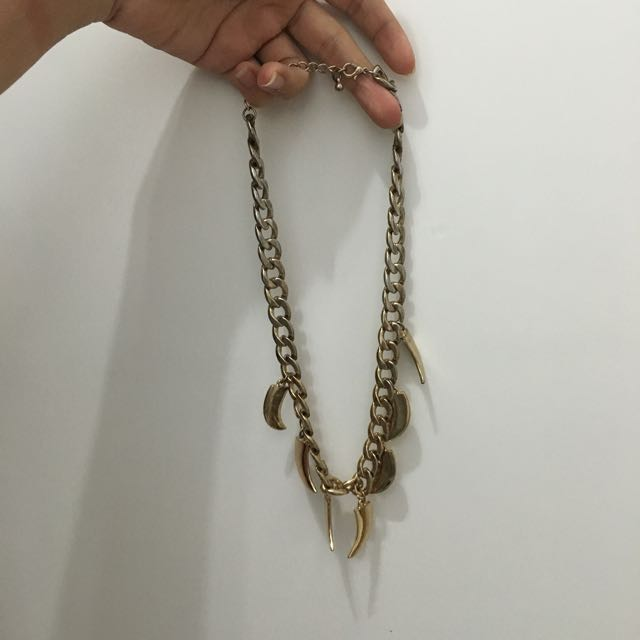 Gold Ivory Necklace