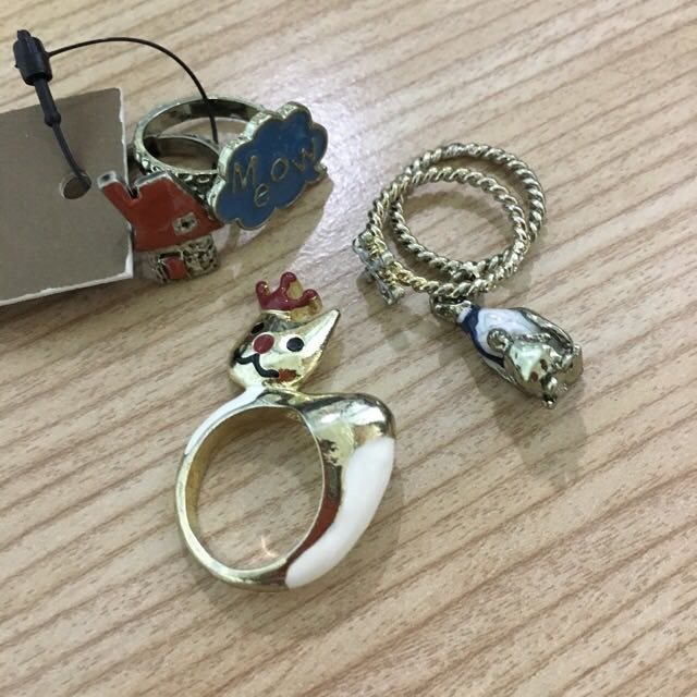 gozo 飾品 戒指 (3組一起賣)