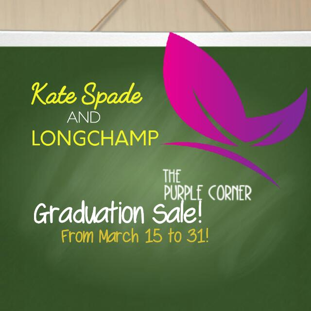 GRADUATION SALE IS HERE!