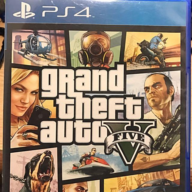 PS4-GTA 5(中文版)
