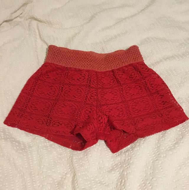 High Waisted Shorts Size Small