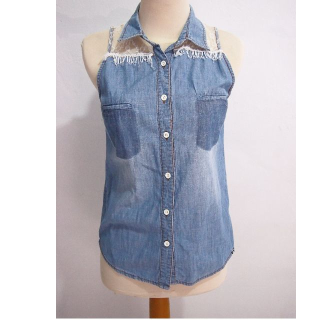 Insight Denim Sleeveless