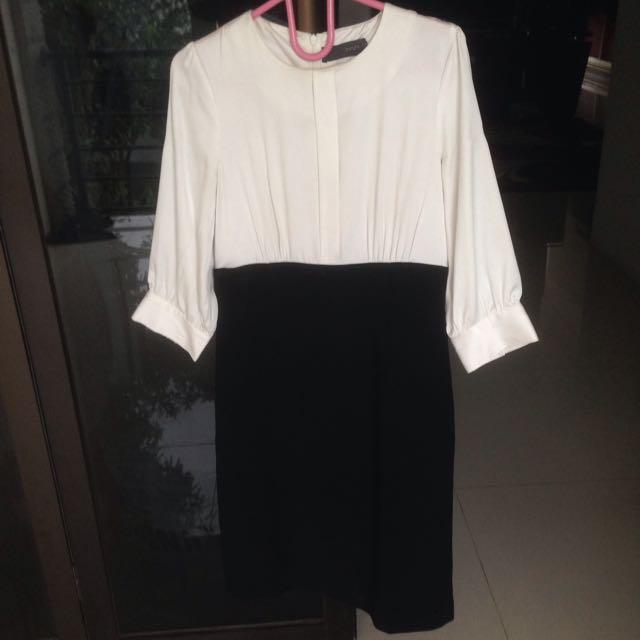 Invio Black&white Dress