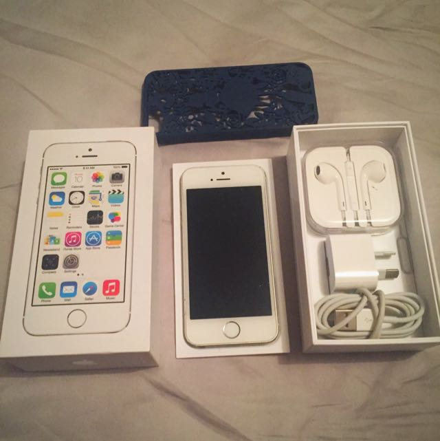 iPhone 5S 64GB SILVER