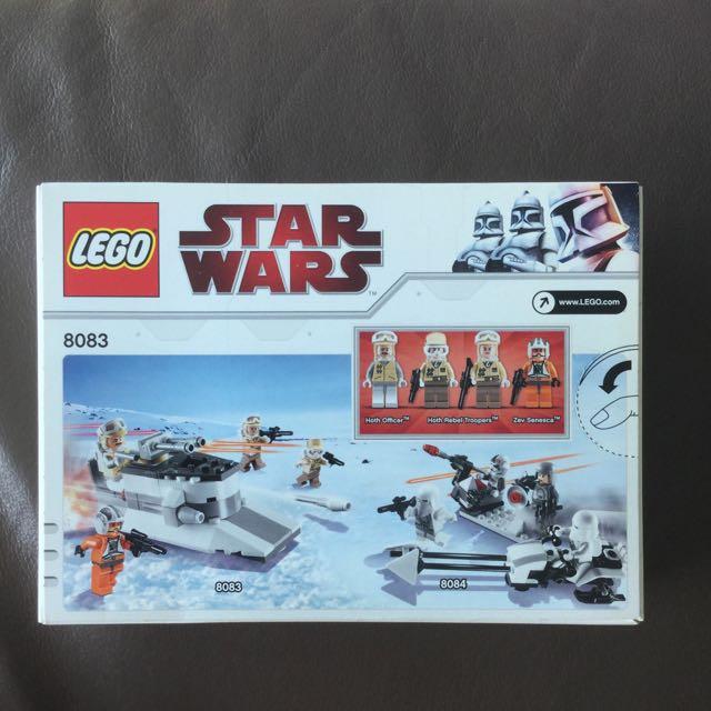 Lego Star Wars 8083 Toys Games Bricks Figurines On Carousell