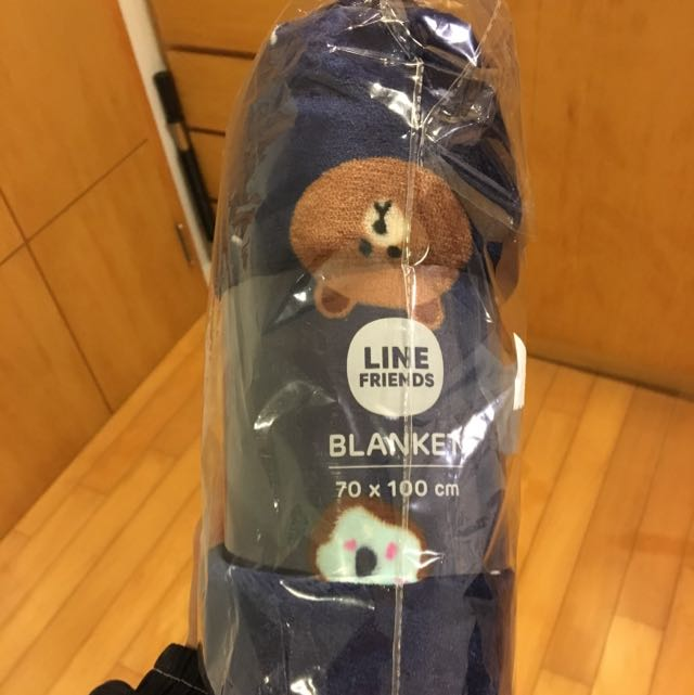 Line 熊大 造型毯 全新 70*100cm