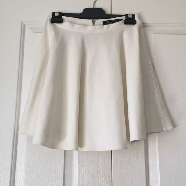 Little White 90's Skirt #under20