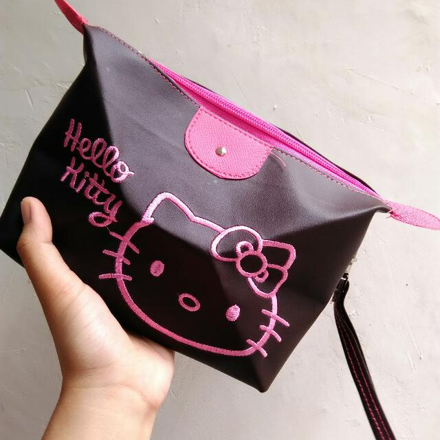 MAKE UP POUCH HELLOKITTY NEW