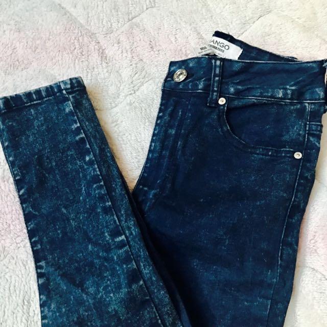 Mango HW Jeans