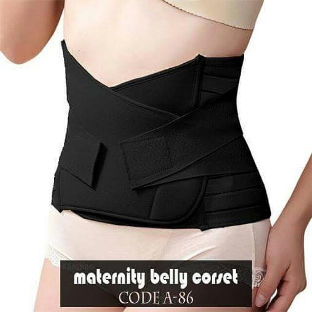 Maternity Belly Korset kode A-86