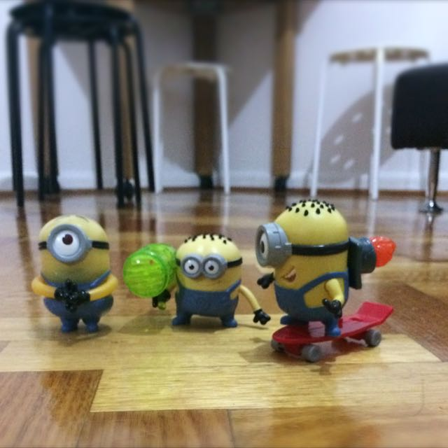 Mcdonalds Happy Meal: Minions