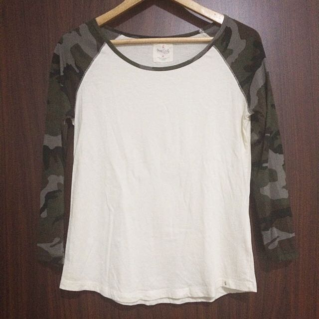 Miss Cindy Army Long Sleeves